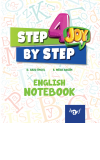 Step By Step 4.Sınıf English Notebook